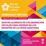 Imagen invitación a seminario virtual